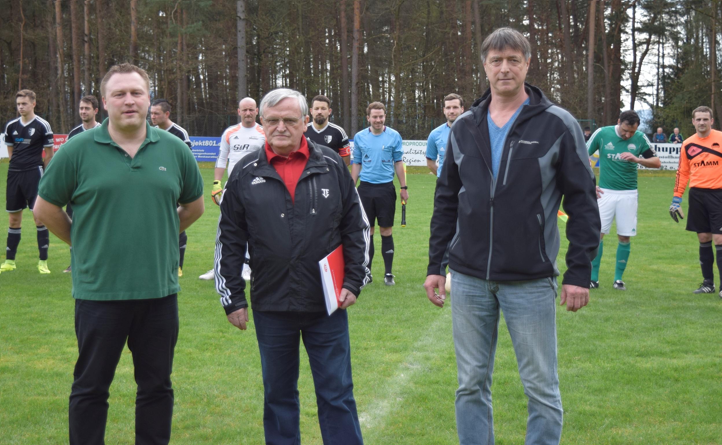 v.l.n.r.: Steffen Breitung, Dittmar Börner, Andreas Meusel